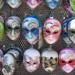 Venice mask's