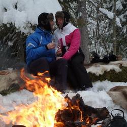 Warmte in Lapland