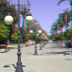 Street of Cordoba Spain 3D