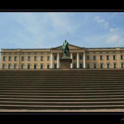 Oslo kasteel van de koning