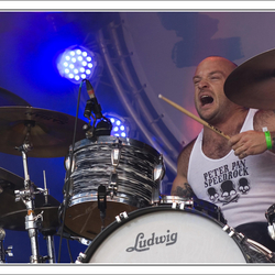 drummer PPSR @ Bevrijdingsfestival Roermond