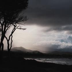Onweer op Sardinië