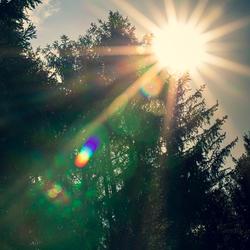 zon explosie