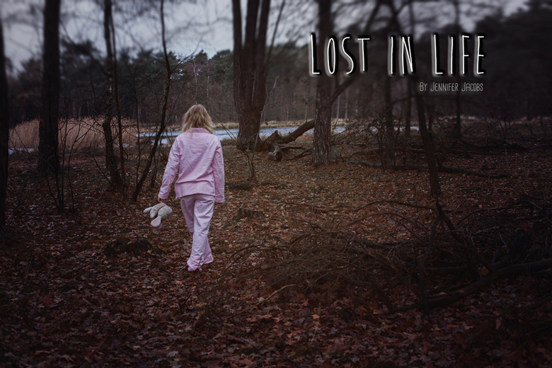 Lost in life - Had this picture for a long time in my head. Last morning i went to the woods in my pajamas. And its was freezing cold (-3). After 2 sh