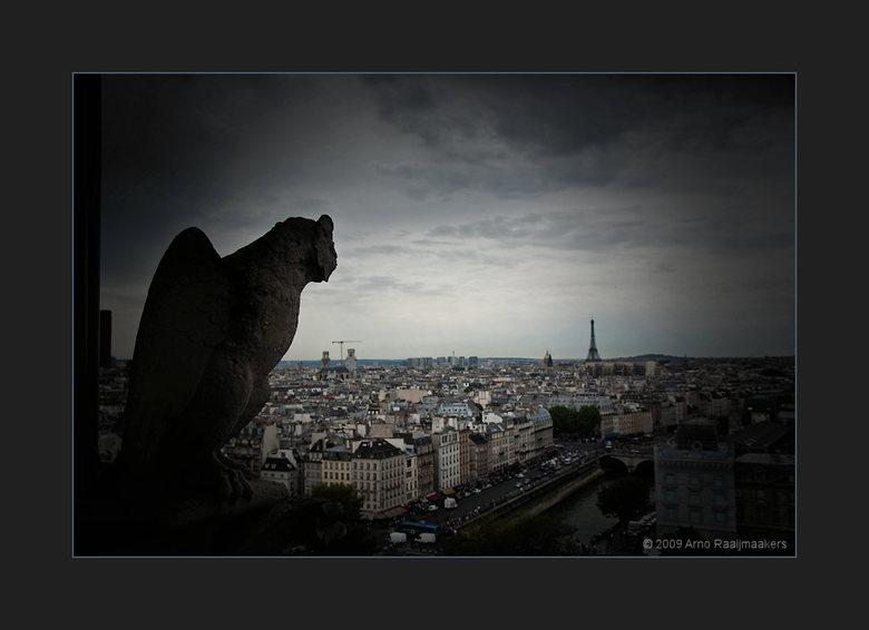 Parijs N Dame 13/13 - De Notre Dame mag je natuurlijk niet overslaan als je in Parijs bent...<br /> <br /> Dit is de laatste van de Notre Dame.<br /