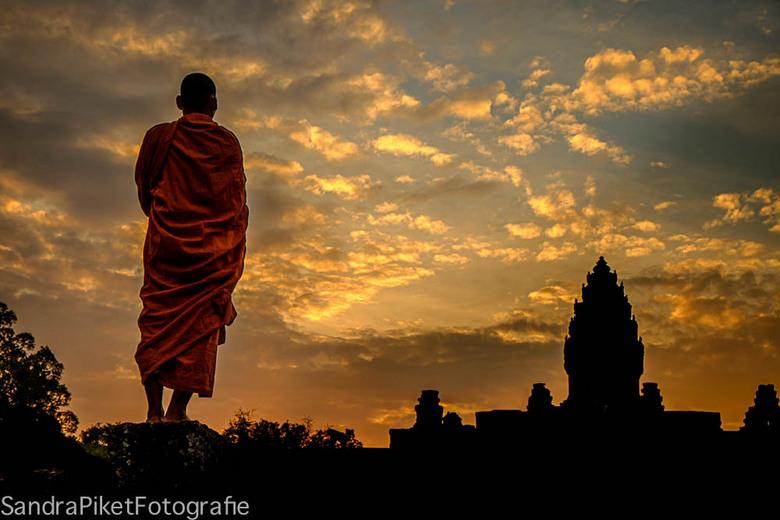 Monnik-Cambodja -