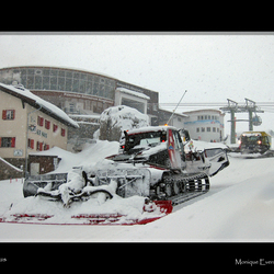 Sneeuwval in Serfaus