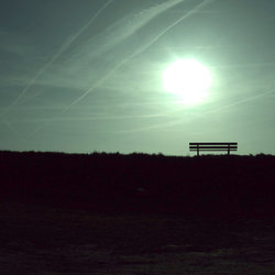 The abandoned bench.