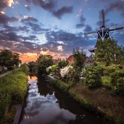 Molen Hollands Wrlvaart from the otherside