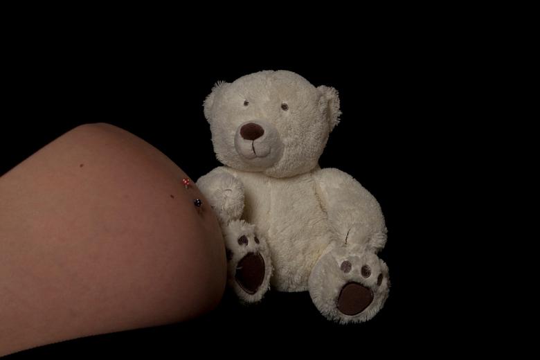 Knuffelbuik - zwangershapsbuikje met knuffel