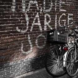 Eenzame fietsen