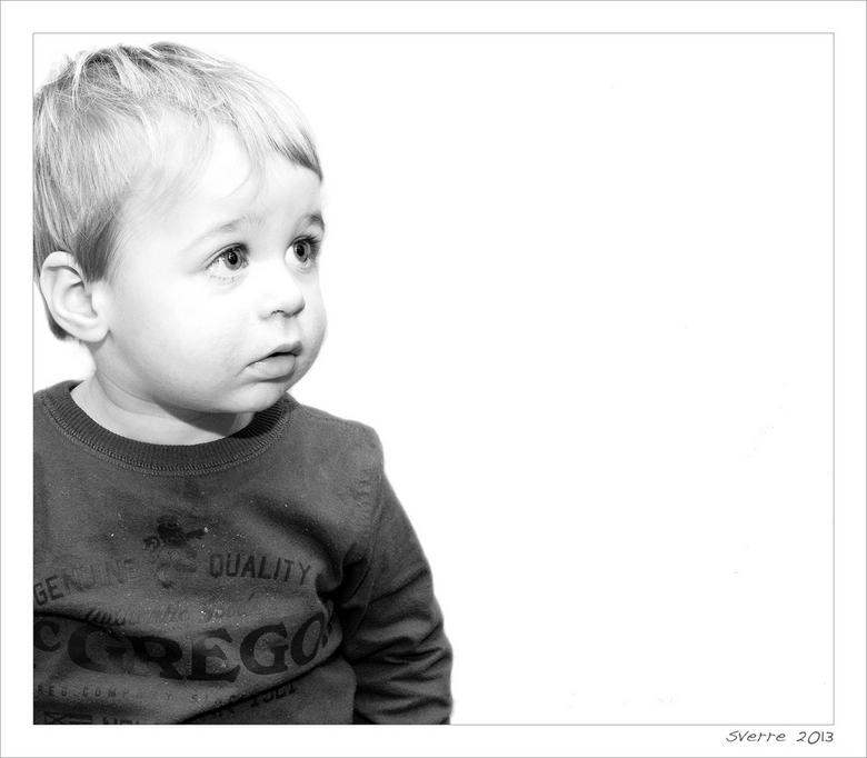 Sverre - aandoenlijk: 1,5 jarige Sverre