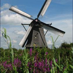 werkende windmolen