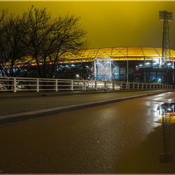 Feyenoord in het water