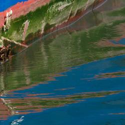 spiegeling schip