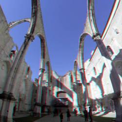 Lisbon Carmo 3D GoPro