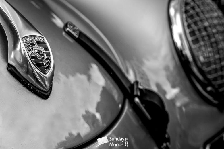 Original old timer Porsche 356  - Originele old timer Porsche 356 tijdens de jaarlijkseBaiersbronn Classic tour