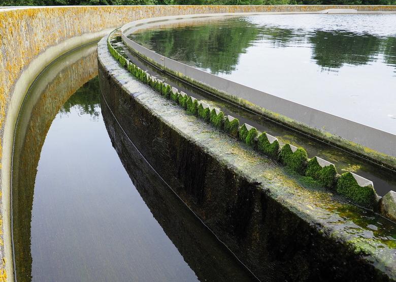ZUIVERING 4 - Basins....er staan er vele ...om het water schoon te maken