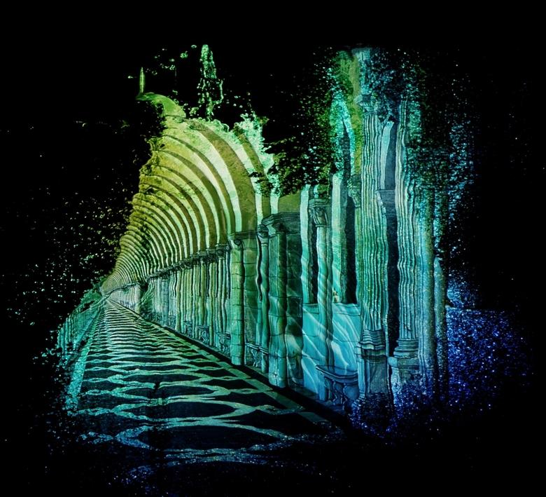 Atlantis - ...... stad onder water.<br />  ik ben weer even met bewerkingen bezig gegaan.<br />