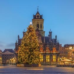 Kerstsfeer in Delft