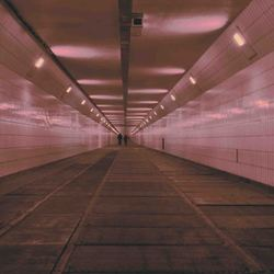 sfeer in de tunnel