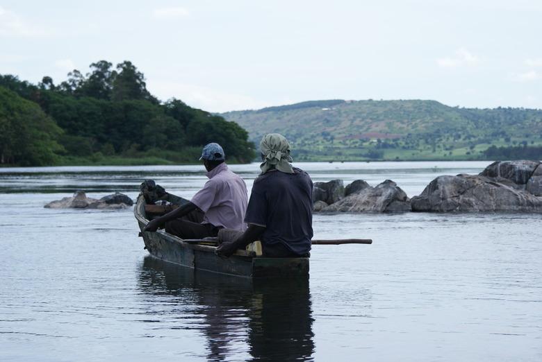 Fishermen - Source of the Nile, Jinja, Uganda