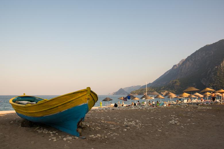 Aan zee - Aan zee, Cirali Turkije