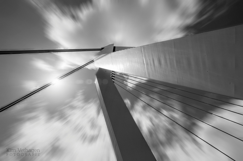 Looking up -