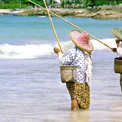 thaise vrouwen.