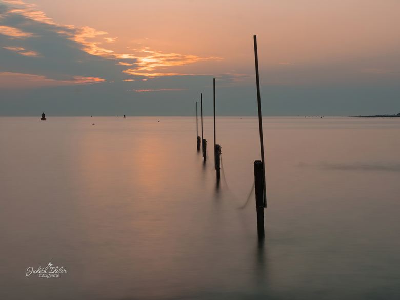 zonsondergang nollestrand -