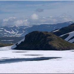 Gebergte in Noorwegen