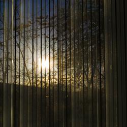 Aan de andere kant van het raam