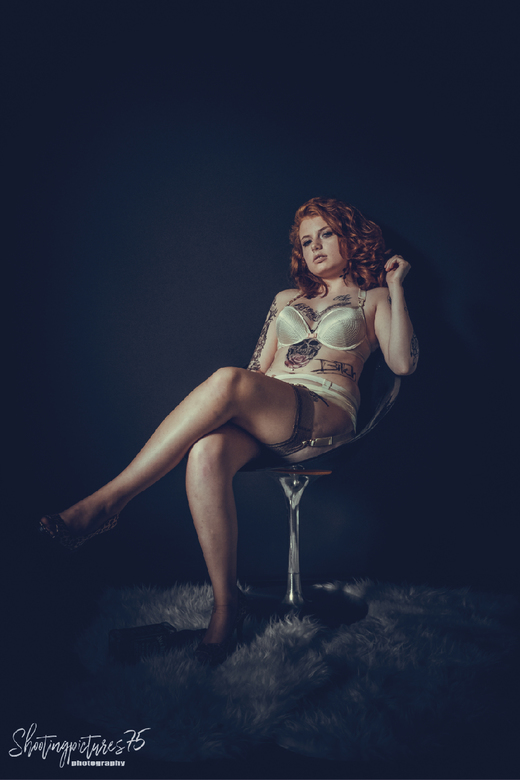 old school pin up - classic pin up shoot