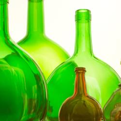 Flessen in licht 2