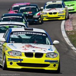 treintje BMW's