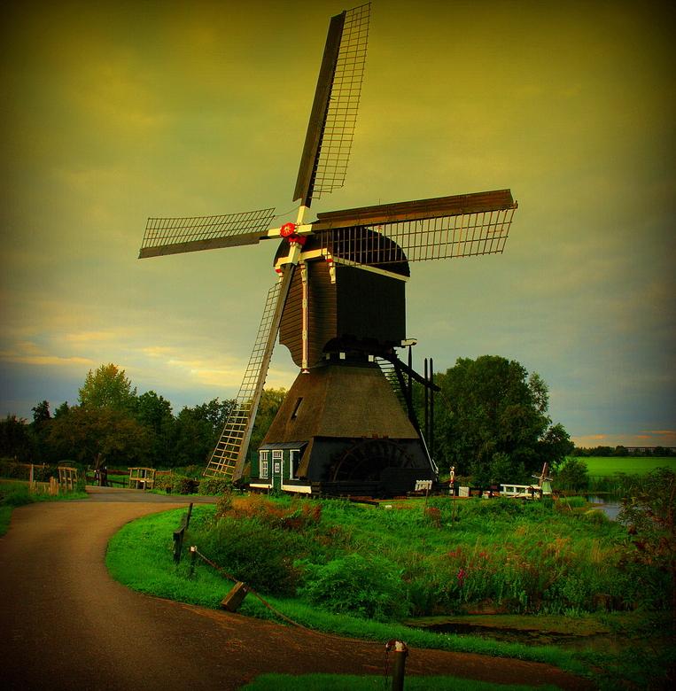 weer een molen - weer de zelfde molen!