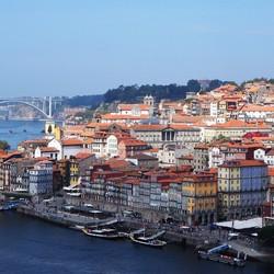 Porto - uitzicht op de Douro