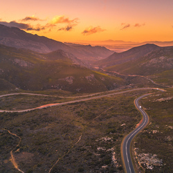 Franshoekpass, Zuid-Afrika