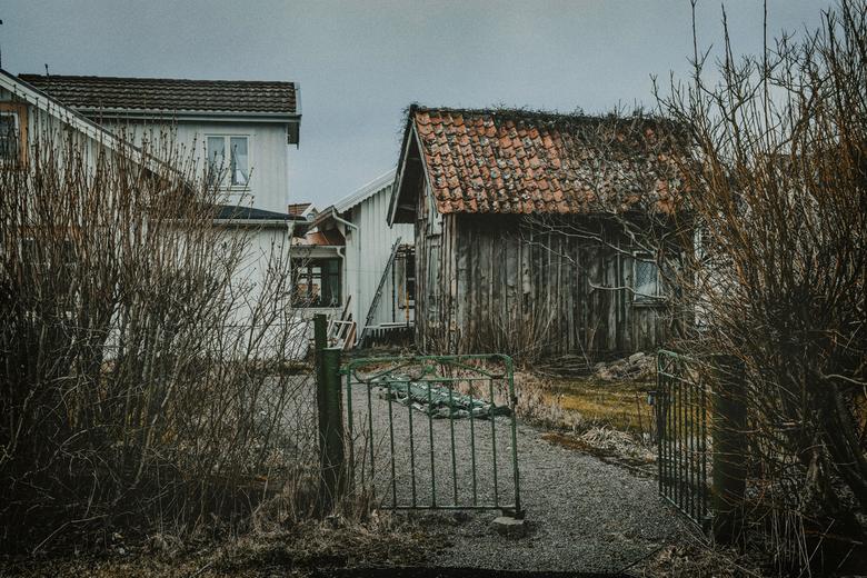 Verlaten - Verlaten huisje in Vrångö, Zweden