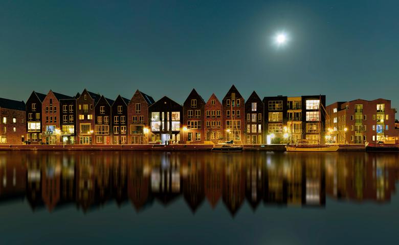 Spaarne Moonlight - Mooi stekkie aan&#039;t Spaarne in Haarlem.<br /> Groet, Djurre