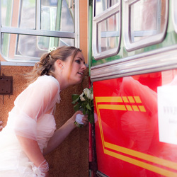 Bruid en Bus
