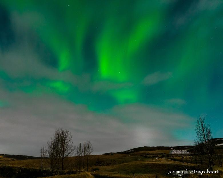 Noorderlicht op IJsland -