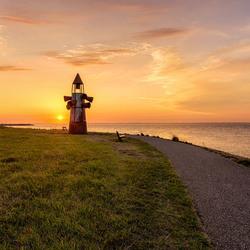 zonsondergang Oosterschelde