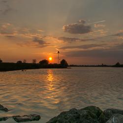 blik over de IJssel