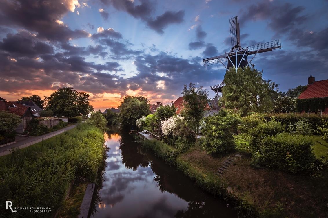 Molen Hollands Welvaart from the otherside