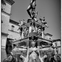 Fontein in Bologna