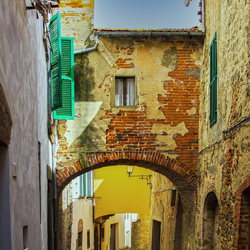 Steegje in Toscane