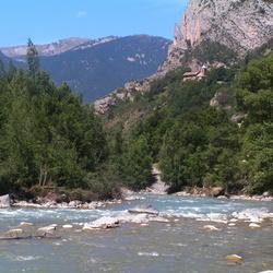 Wederom de rivier Ubaye