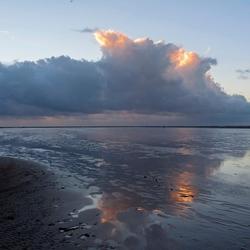 Zon onder op Texel(2)