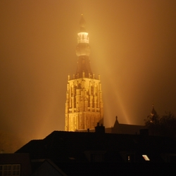St. Petruskerk in de mist